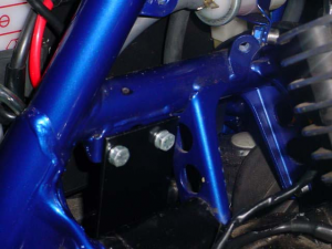 Virago Assembly Mounted To Frame
